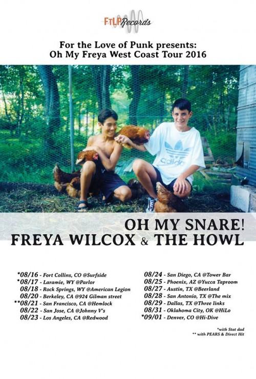 Howl Band Tour Dates