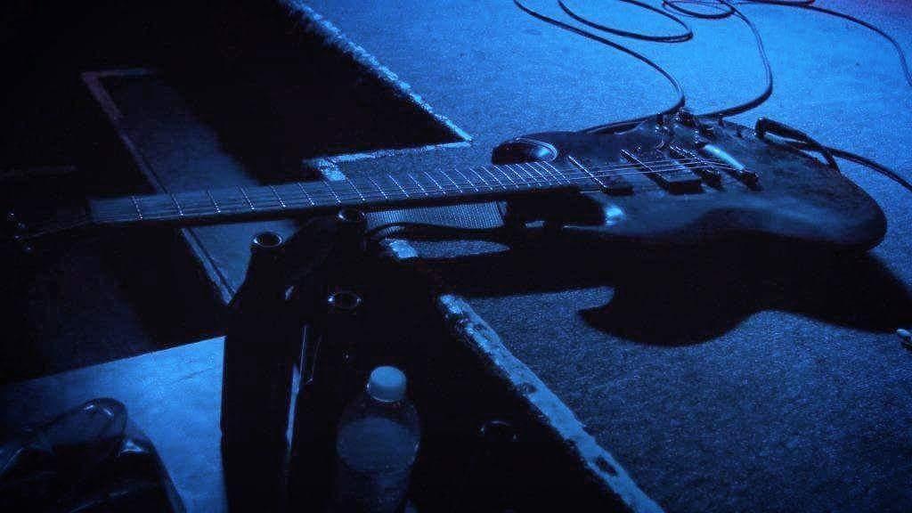 Dirty Kurt's (SNFU) guitar